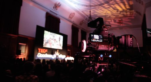 TEDx in the great hall at Goodenough College