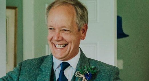 David Turner smiling