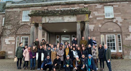 Goodenough scholars visit The Burn in Scotland