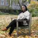 Goodenough Member Setsabile Sibisi in Mecklenburgh Square Garden