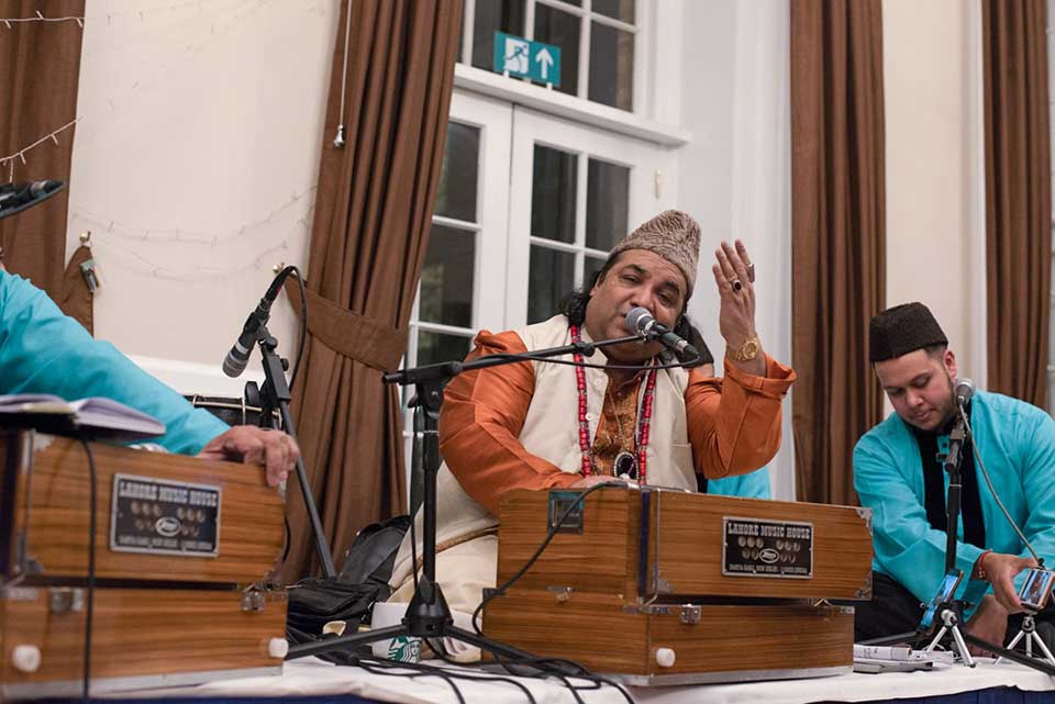Relifious event at Goodenough College