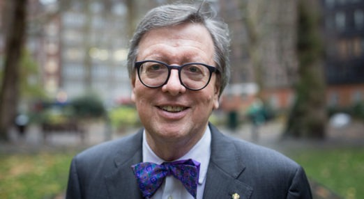 Head shot of Eric Tracey Chairman of the Board of Goodenough College