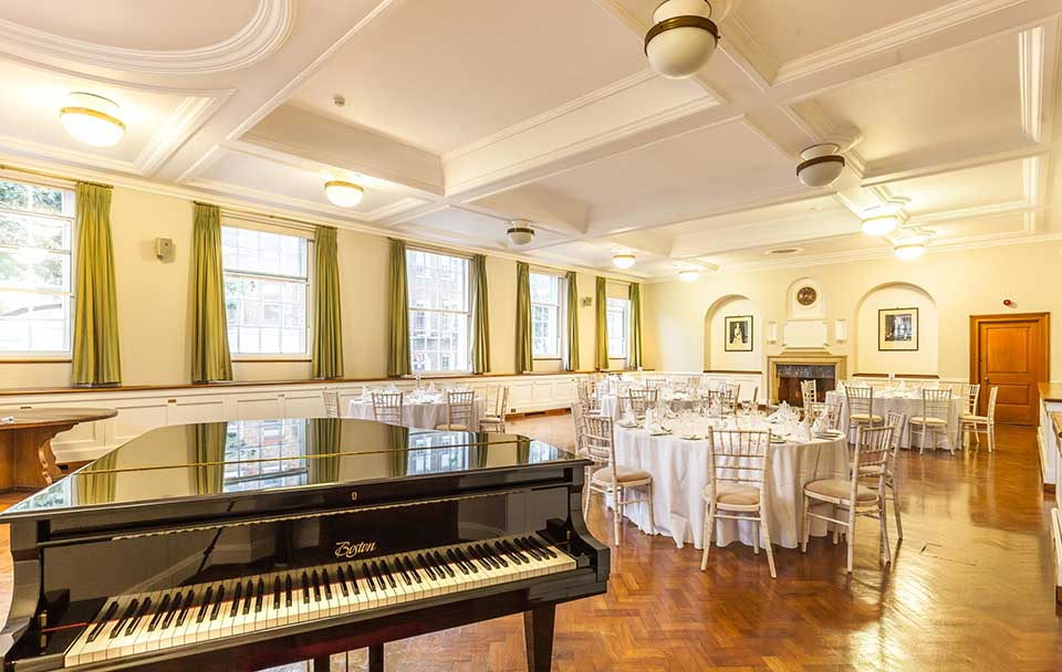 Venue for hire at Goodenough Gollege