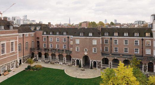 Goodenough College near top universities