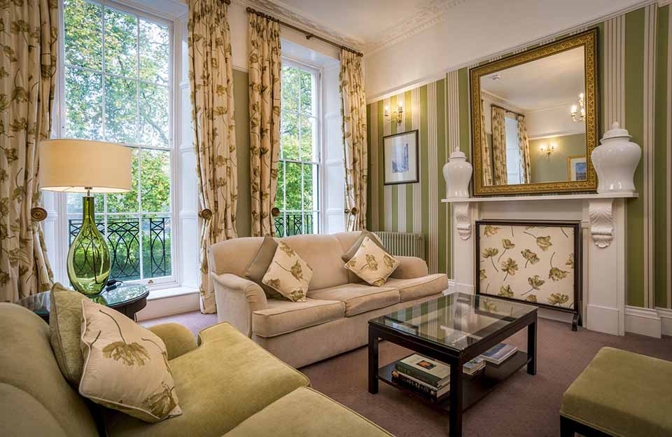 Suite at The Goodenough on Mecklenburgh Square