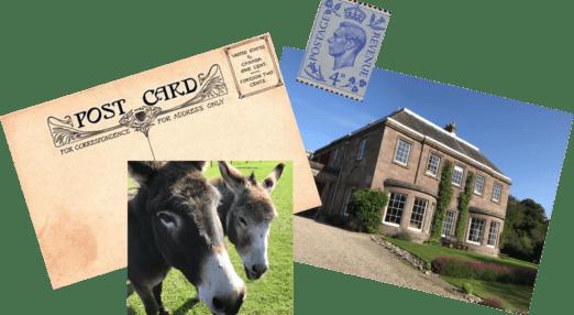 The Burn postcard initiative