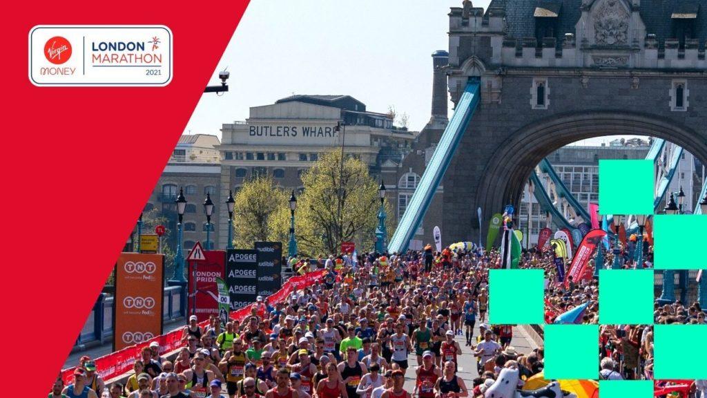London Marathon by Tower Bridge