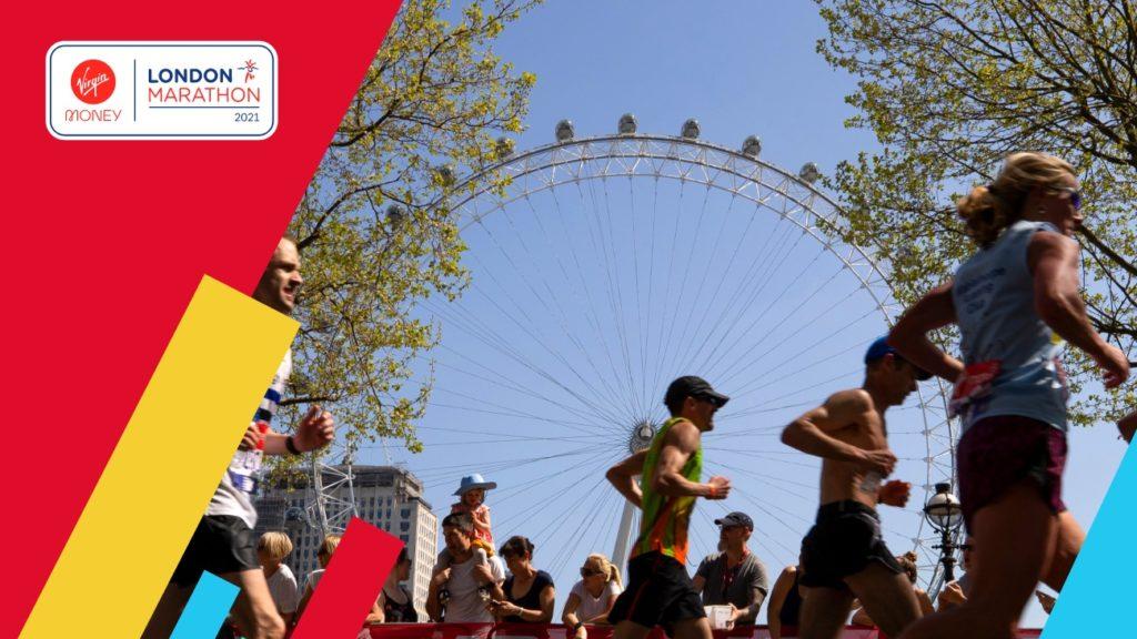 London Marathon by London Eye